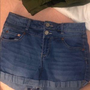 Size 6 jean shorts